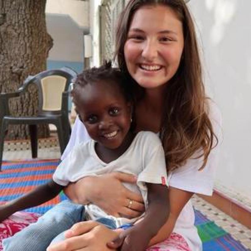 Maya H in Senegal